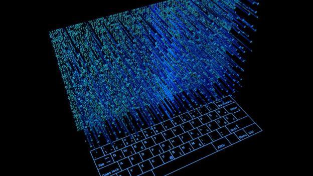 Ilustração de computador