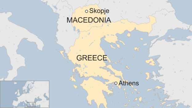 Macedonia Why The Row With Greece Over The Name Runs So Deep Bbc News