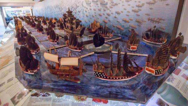 Triển lãm về đoàn thuyền của Đô đốc Trịnh Hòa ở Malaysia