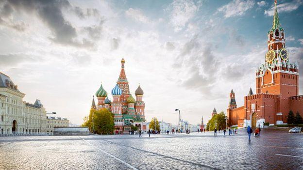 Vista da Praça Vermelha
