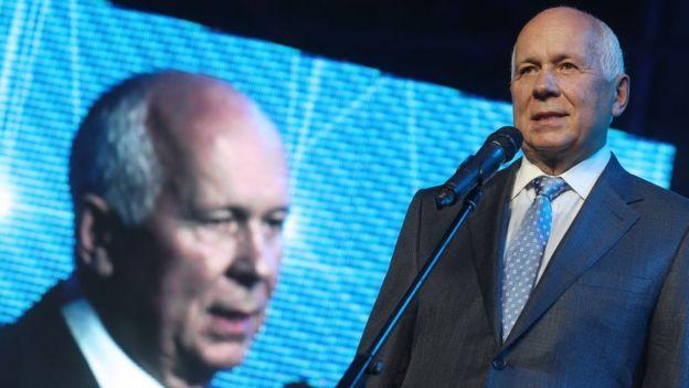 Sergey Chemezov, el presidente ejecutivo de Rostec