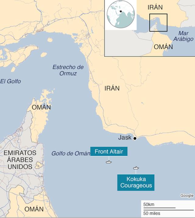 Estrecho De Ormuz Mapa.Por Que Es Importante El Estrecho De Ormuz Y Como Se Llego A