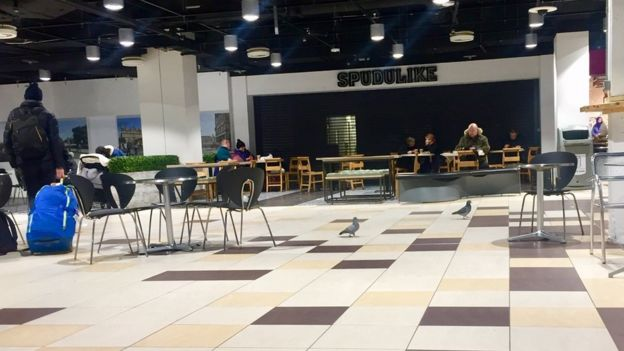 Waverley Mall food court Pic: Angie Brown