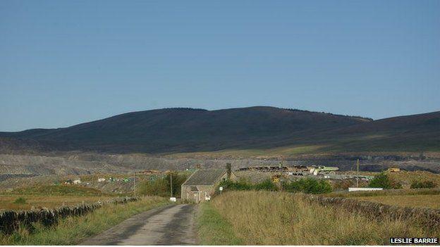 Glenmuckloch opencast