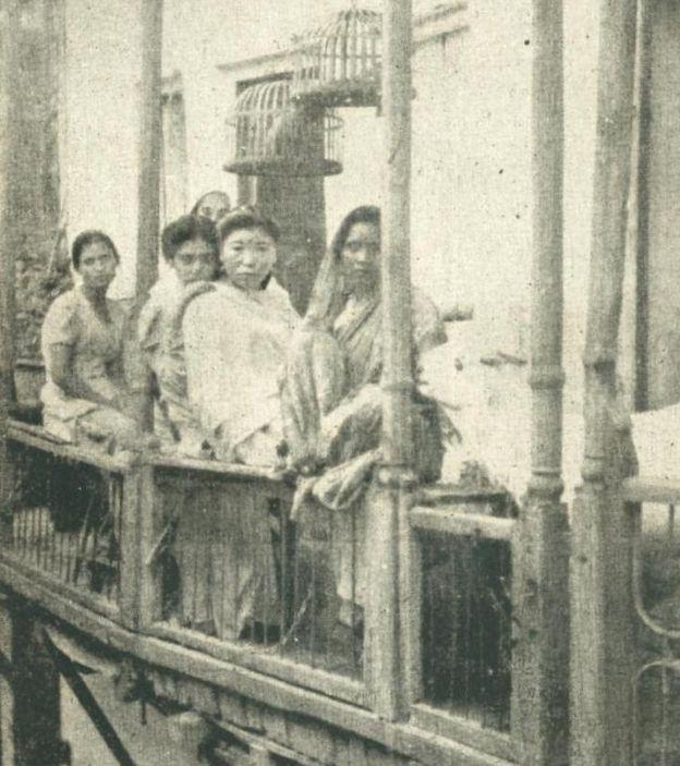 Prostitutas indianas, em Mumbai