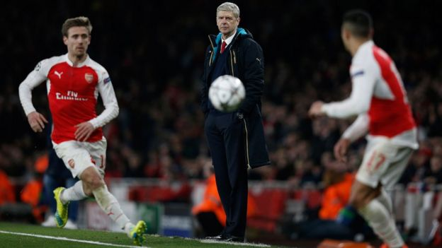 Arsene Wenger y Arsenal