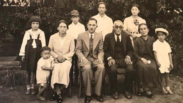 Família Mizobe em Bastos, no interior de SP