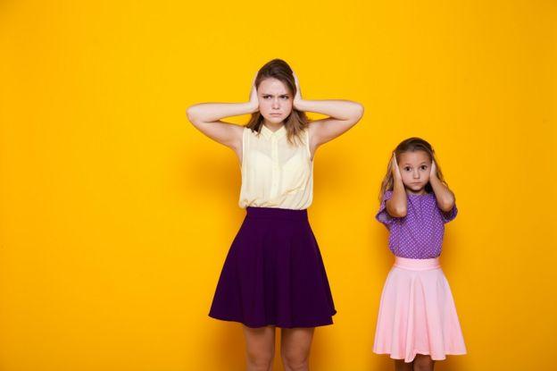 Две девочки