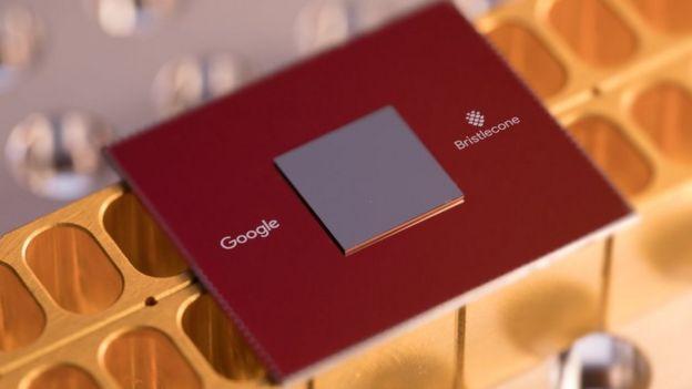 Procesador cuántico de Google Bristlecone