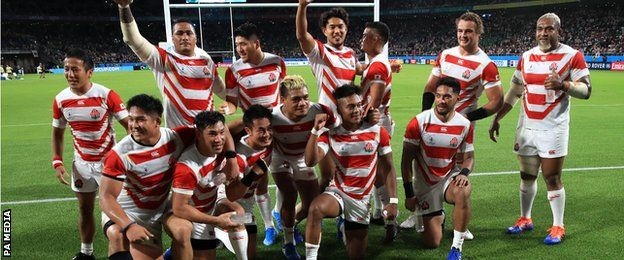 The shock result in Shizuoka was Japan's first-ever Test win over Ireland