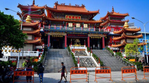 Đền thờ Khổng Tử một địa điểm du lịch hấp dẫn khách du lịch ở Đài Loan