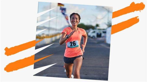 Miranda correndo