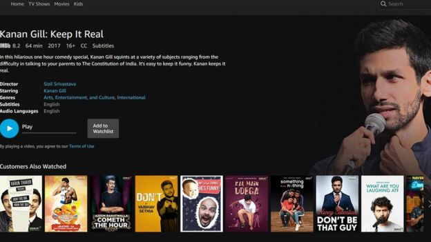 Funny shows on amazon prime
