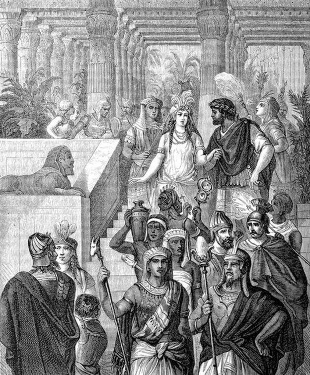 آنتونی و کلئوپاترا، آخرین فرعون بطلمیوسی مصر باستان