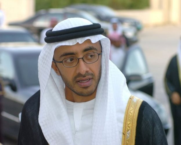 BAE Dışişleri Bakanı Abdullah bin Zayid