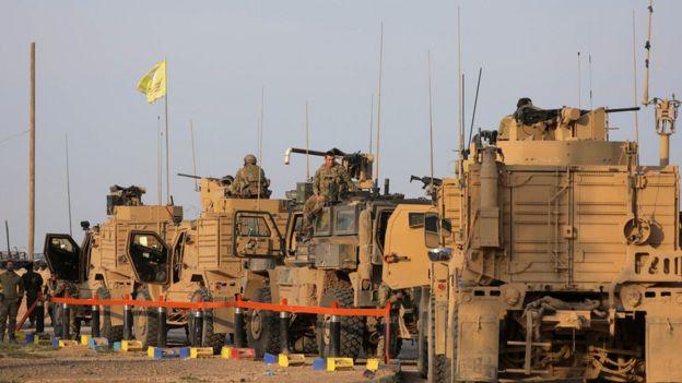 قوات امريكية شمال سوريا