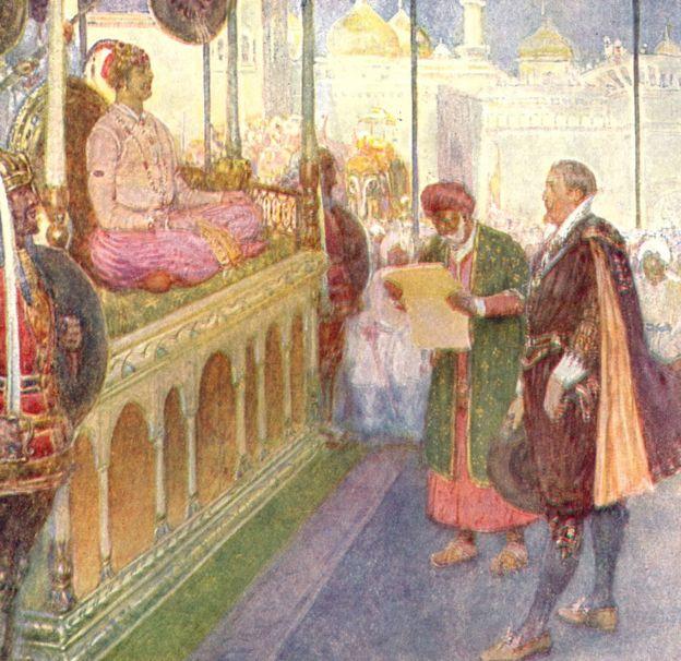 जहाँगीर के दरबार में दूत रहे सर टॉमस रो