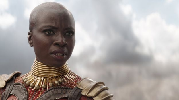 Danai Gurira as Black Panther's Okoye