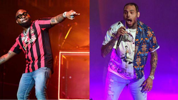 """Resultado de imagem para Davido - """"Blow My Mind"""" com Chris Brown"""