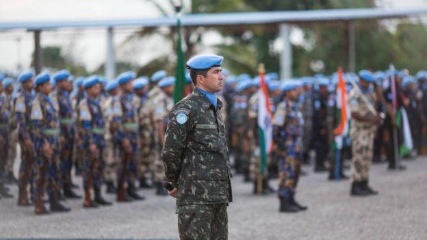 Haiti BM barış gücü