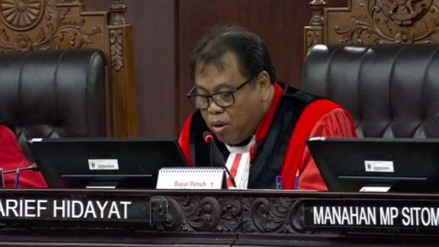 MK, sidang, KUHP, Arief Hidayat
