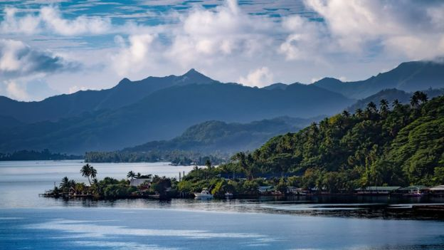 paisaje de Fiji.