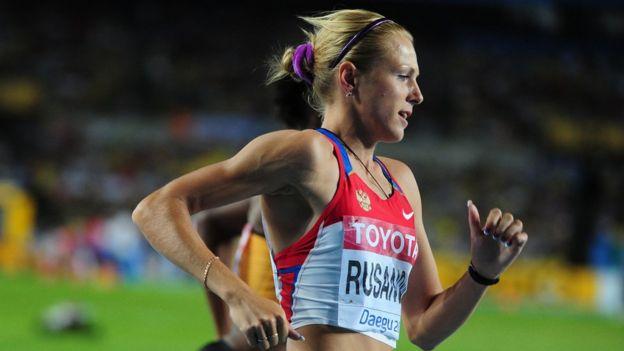 Russian sports womens