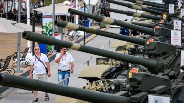 Feria de armas rusas