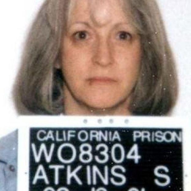 Susan Atkins Foto: Oficina de Correccionales de California