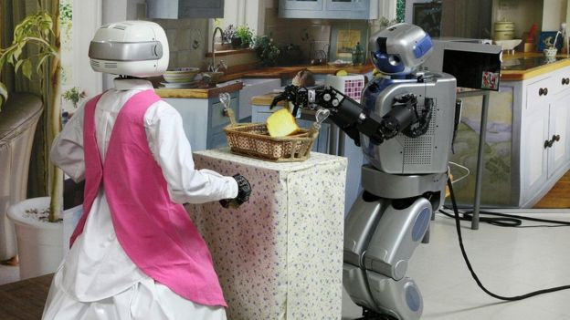 روبوتات تعد الطعام