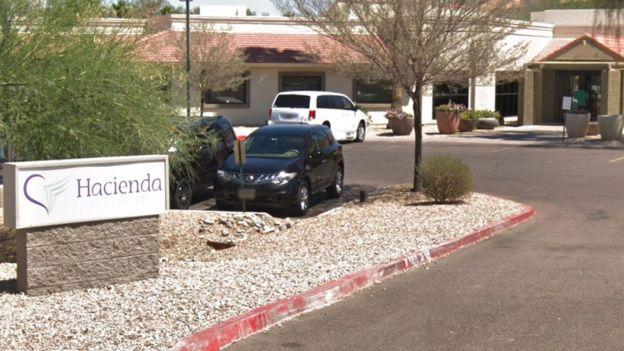 Edificio clínica Hacienda HealthCare, Phoenix