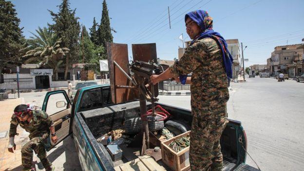 YPG güçleri