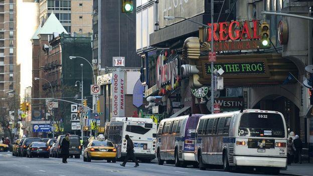 Estação de ônibus de Manhattan, Nova York