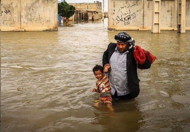Risultati immagini per سیل ایران آق قلا