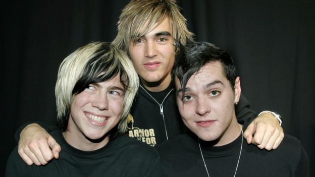 James Bourne, Charlie Simpson and Matt Willis (l-r)
