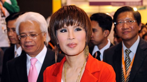 This picture taken on March 24, 2010 shows Thai Princess Ubolratana Rajakanya