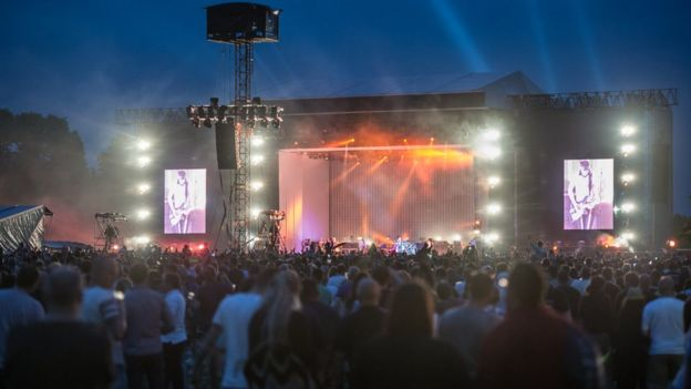 Kasabian Hometown Gig Should Move Venue Bbc News