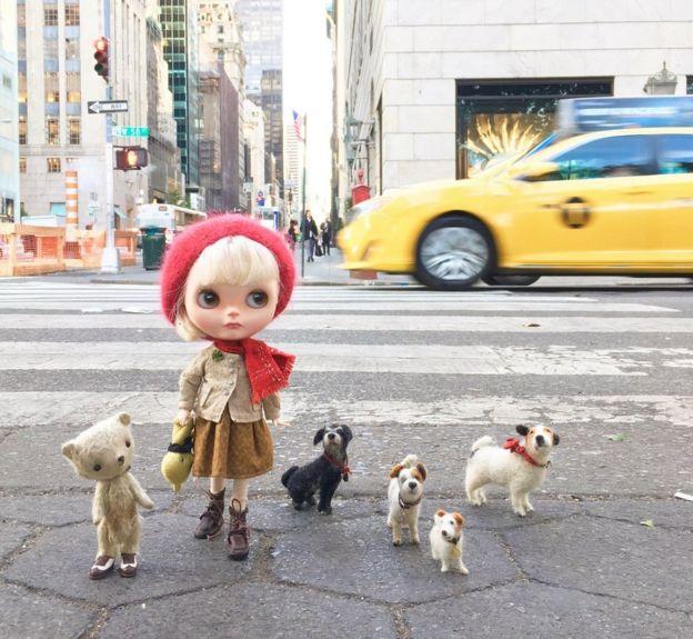 Muñeca en Nueva York