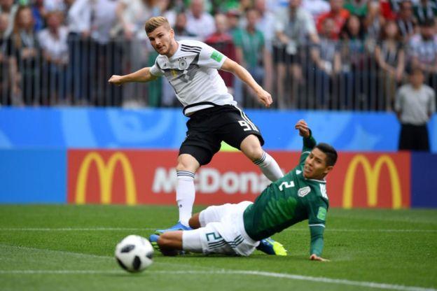 Werner está siendo la amenaza de Alemania.