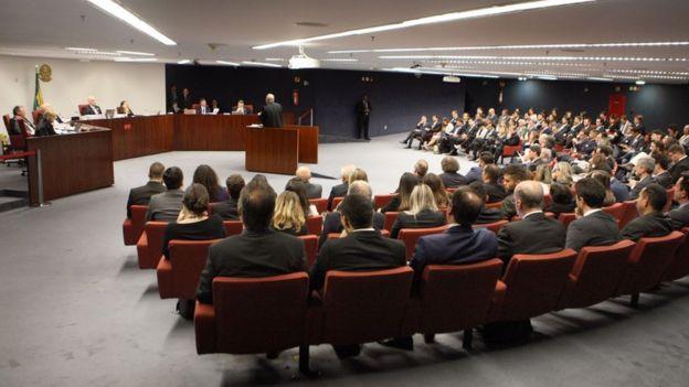 Sessão da Primeira Turma do STF