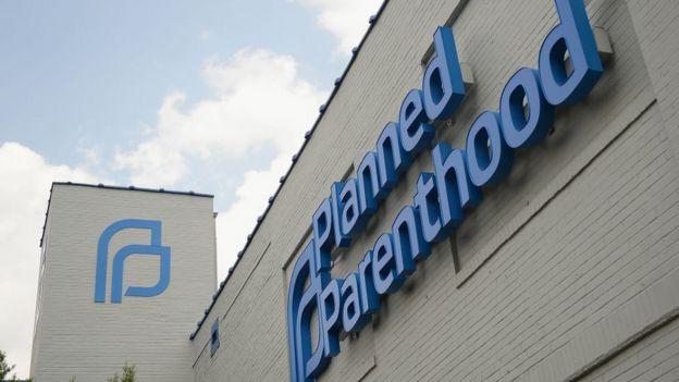 Fachada da Planned Parenthood