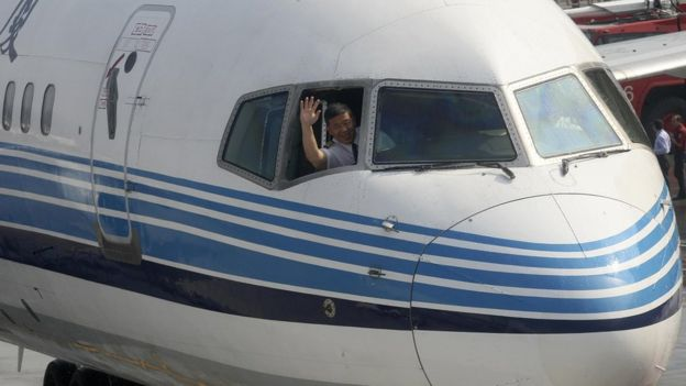 廈門航空2008年七月首次包機直飛往返台北廈門。