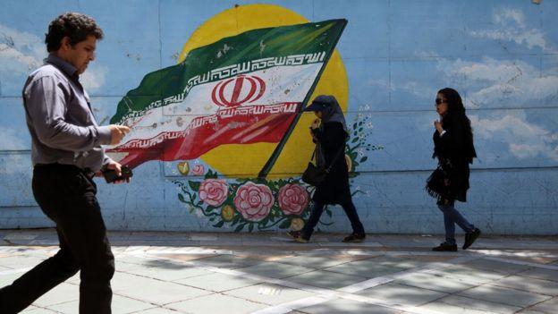 Imagen de una calle en Teherán.
