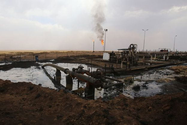 oil field in Syria's northerneastern Hasakeh province