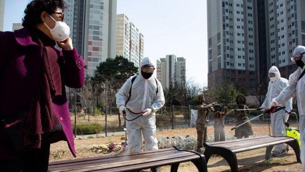 दक्षिण कोरियामा सफाइ