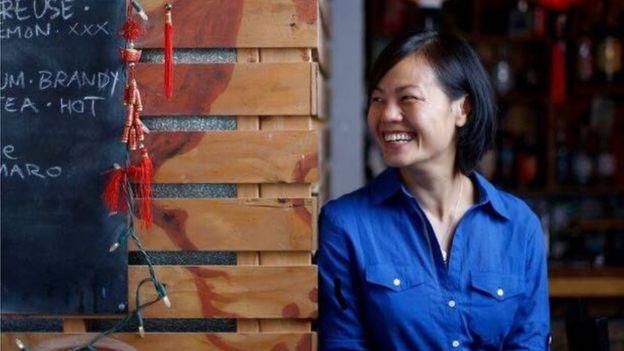 Bà Uyên Nguyễn đến Mỹ ở tuổi 11. Bà là chủ nhân của nhà hàng Nue tại Seattle.