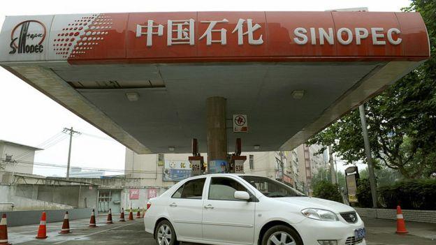 Gasolinera de Sinopec