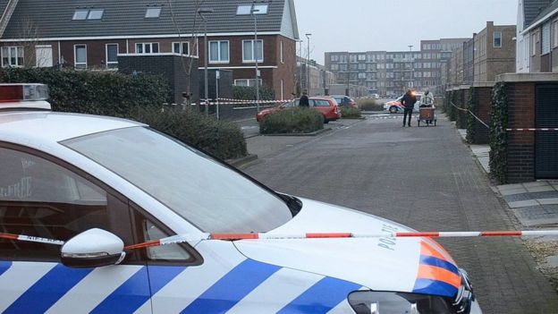 Scene of the 2015 assassination in Almere