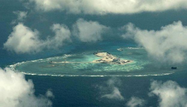 Trung Quốc đã biến những rặng san hô ở biển Đông thành các căn cứ quân sự
