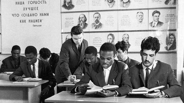 Le Congo envoie des étudiants se former en Russie depuis les années 60.